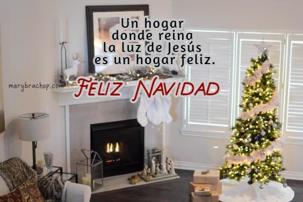 imagen de hogar familia feliz navidad cristiana