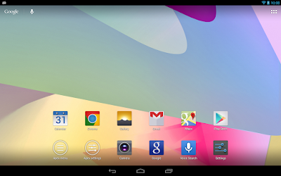 Apex Launcher - Tema Tablet Android