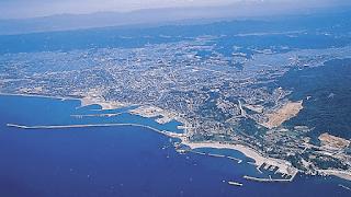 isla japón geografía desde el cielo