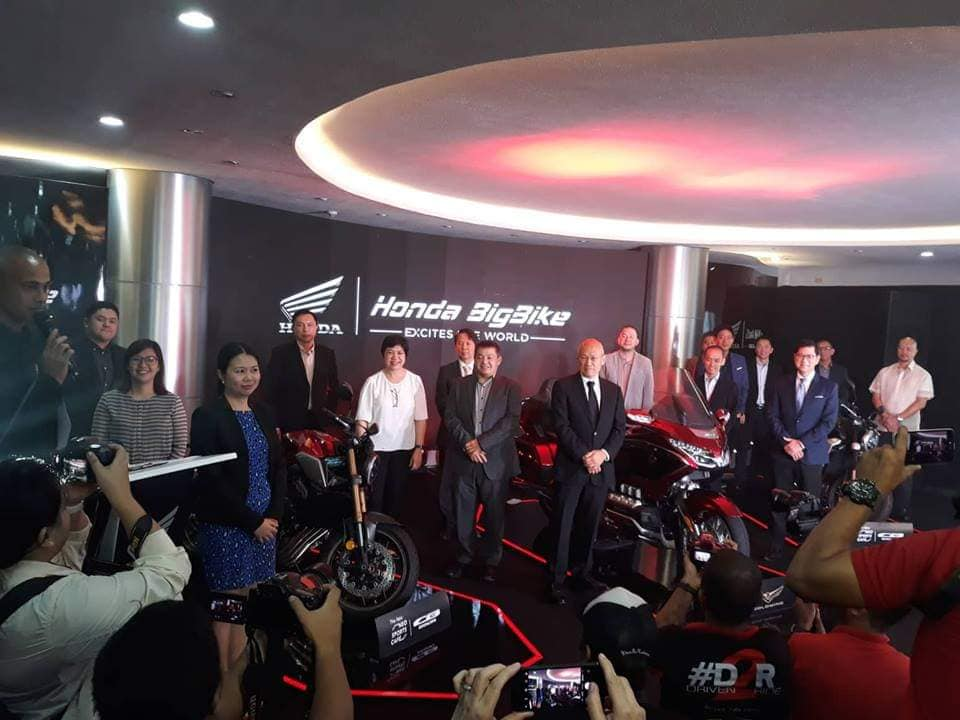 Honda launches new Big Bikes in the Philippines