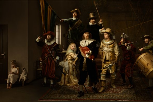 Gemmy Woud-Binnendijk fotografia como pinturas clássicas renascentistas luz sombras