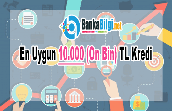 En Uygun 10.000(On Bin) TL Kredi