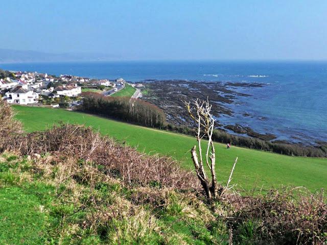 A view towards Looe, Cornwall