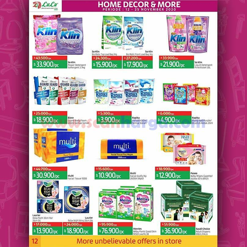 Katalog Promo LULU Supermarket 12 - 25 November 2020 12