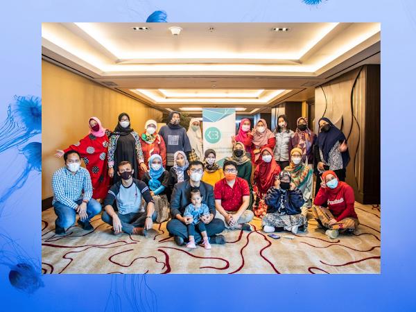 Arisan Ilmu KEB Bandung: Belajar Membuat Mikroblogging dengan Canva