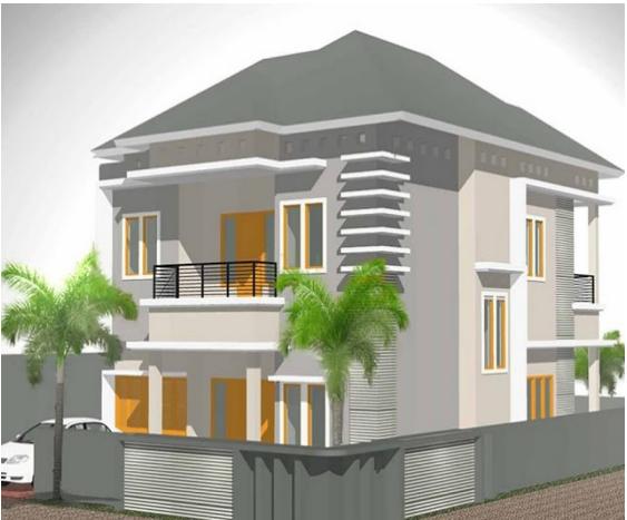 Gambar Rumah Minimalis Bertingkat 2