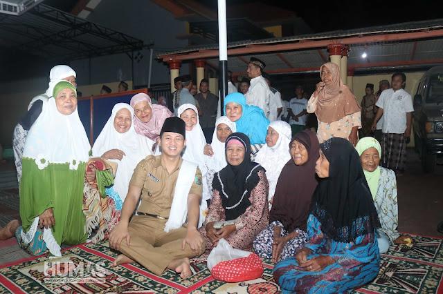Mulai dari Buka Bareng Ibu-ibu, Tarawih Bareng Warga, Himbau Kerukunan Pasca Pemilu, Lapor Rakyat hingga Adipura Desa