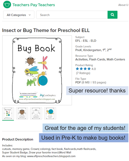 Esl Efl Preschool Teachers Insects Worksheets And More For Preschool Ela - View Insect Activity Insects Worksheets For Kindergarten Background
