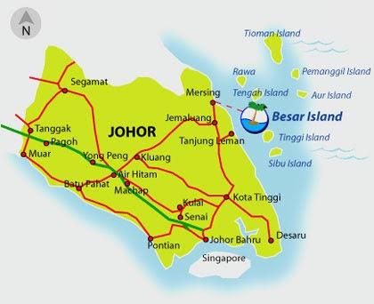 **把我的脚印留在世界各地**: Pulau Besar trip - Prologue