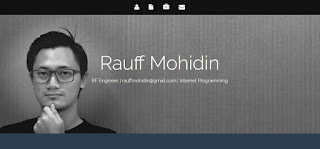 Noor Rauff - Personal Website