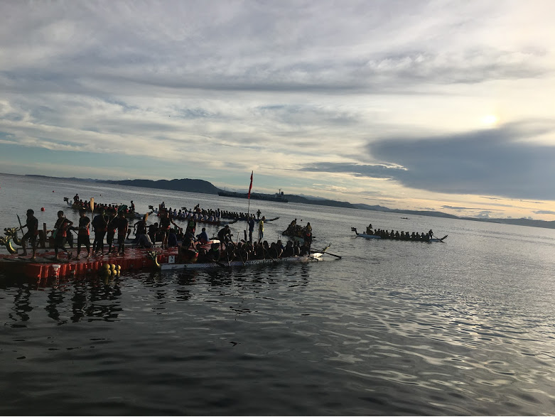 2018 Surigao del norte international dragon boat contest