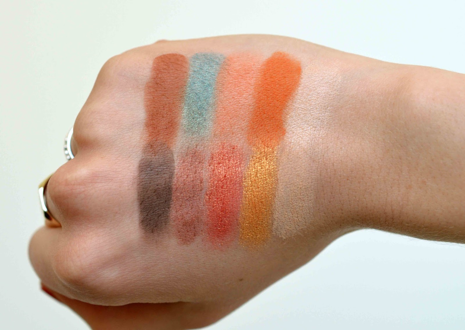 Not a Basic Peach Swatches