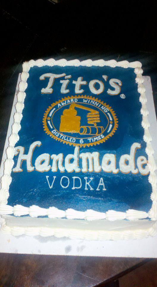 Sugar Castles Cakes And Sweets Tito S Vodka Cake Vodka Cake