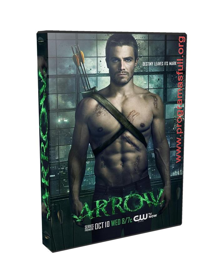 Arrow temporada 6 poster box cover