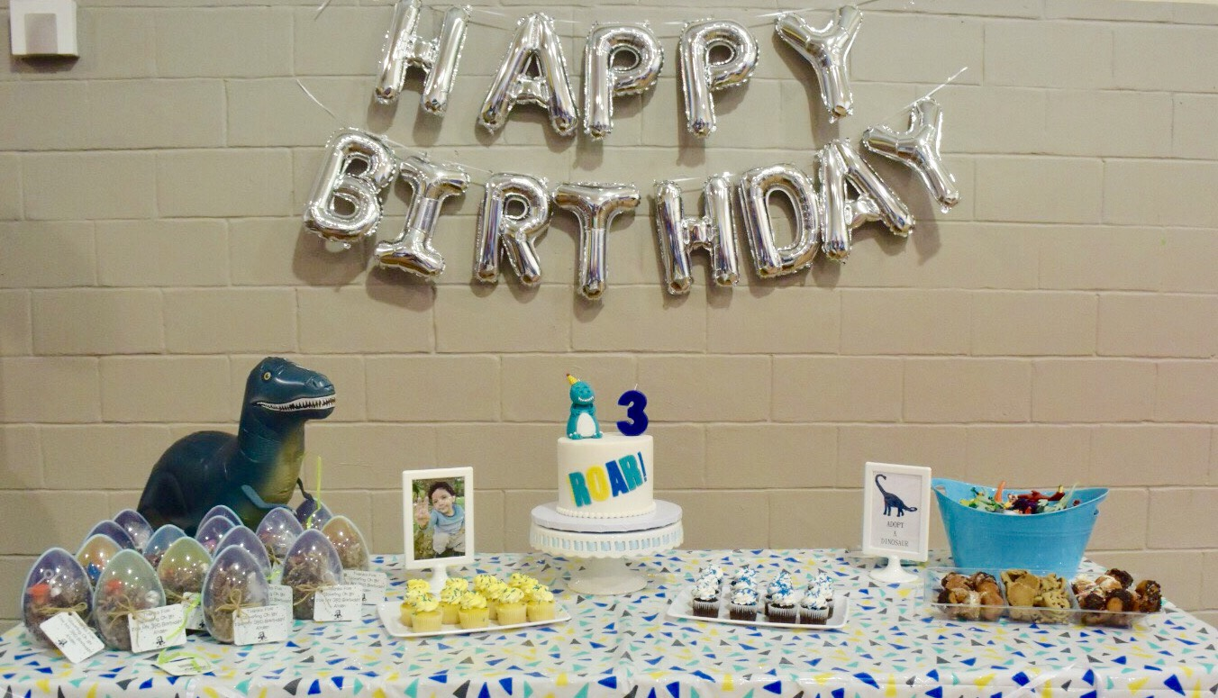A Dino Mite Birthday Life With Gina G