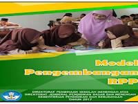 model pengembangan RPP SMA Kurikulum 2013 terbaru