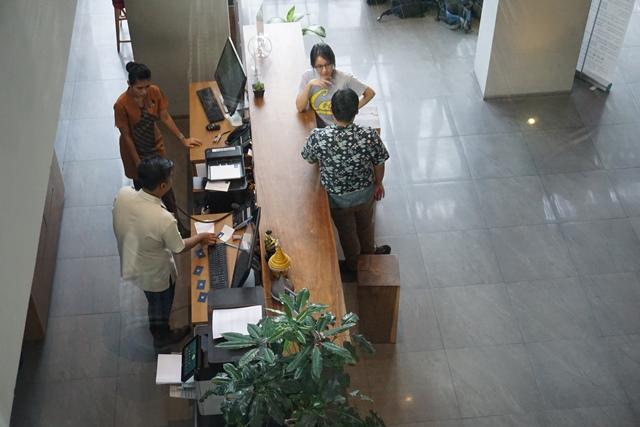Area lobi Batiqa Hotel Pekanbaru