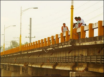 Calumpang Bridge Fishermen