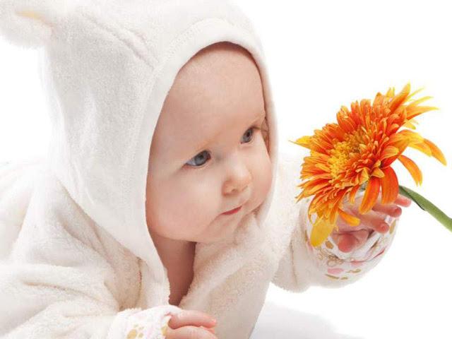 kids flower image hd