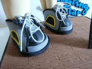 zapatos de montaña goma eva