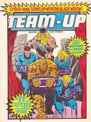 Team-Up #18, Fantastic Four