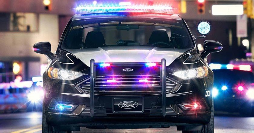 Ford Wants to Patent a Driverless Police Car that Ambushes Lawbreakers using AI