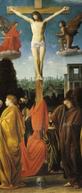 Marie-Madeleine et Jésus-Christ.