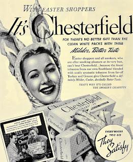 Carole Landis Chesterfield Cigarettes