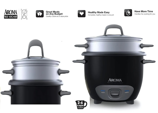 Aroma Housewares ARC-743-1NGB Food Steamer Review