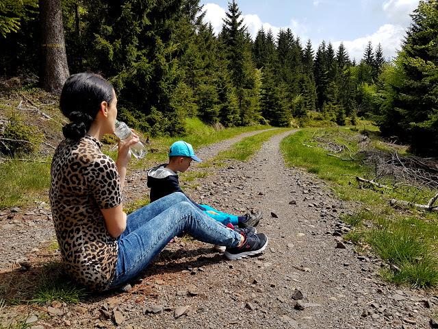 Wielka Sowa z dzieckiem - Wielka Sowa z wózkiem dziecięcym - trasy na Wielką Sowę -najwyższy szczyt w Górach Sowich - podróże z dzieckiem - góry z dzieckiem - wózki cybex - rodzinne podróże - blog rodzicielski
