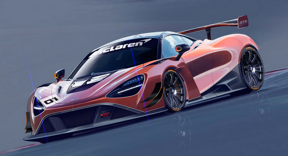 Here's Your First Look At The McLaren 720S GT3