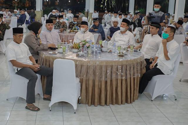 Buka Puasa Bersama, Bupati Asahan : Pemkab Akan Memberikan Bantuan ke Masjid dan Musholla