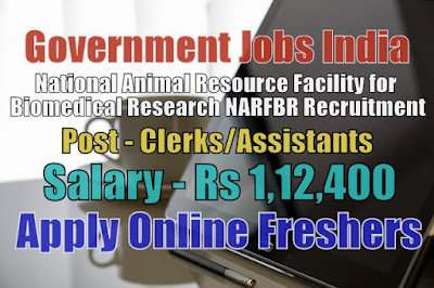 NARFBR Recruitment 2020