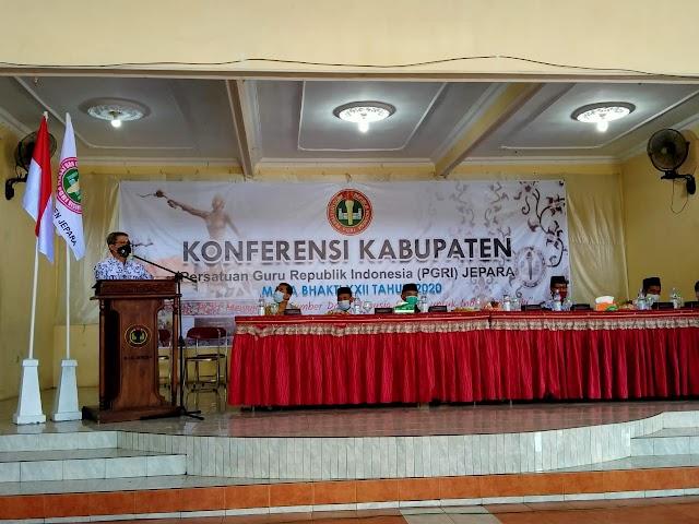 Konferensi PGRI Cabang Jepara di Masa Pandemi