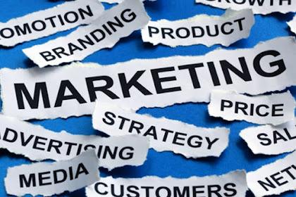 Pemasaran dan penjualan.