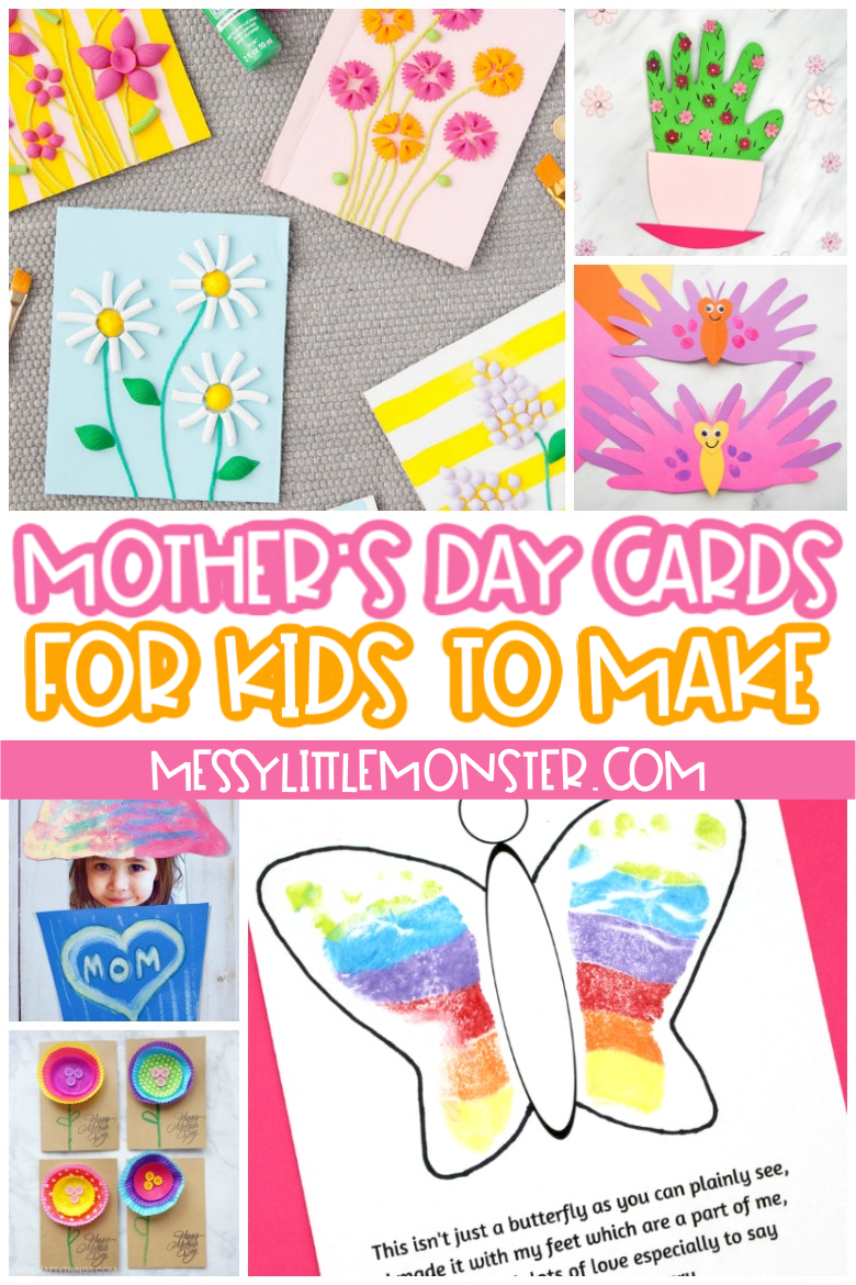 Mother's Day Card Ideas for Kids to Make