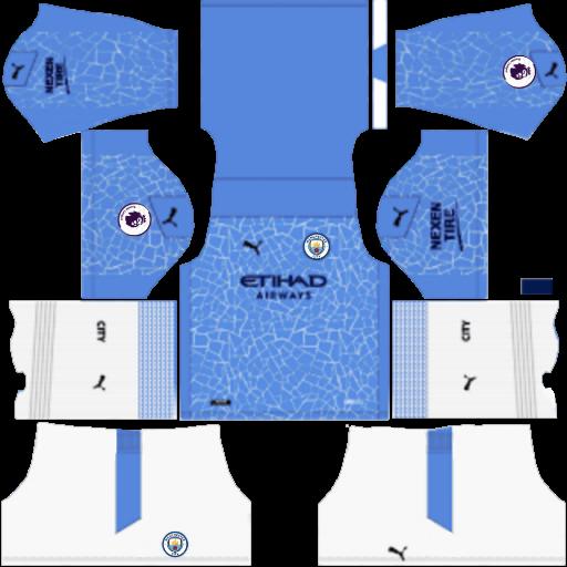 Kits Manchester City 2021 - Dream League Soccer 2019 & FTS