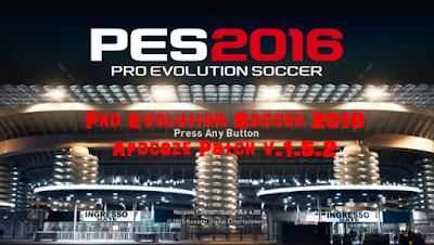 Patch PES 2016 Terbaru dari Apocaze Patch V1.5.2