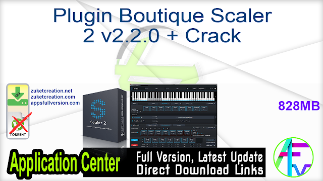 Plugin Boutique Scaler 2 v2.2.0 + Crack
