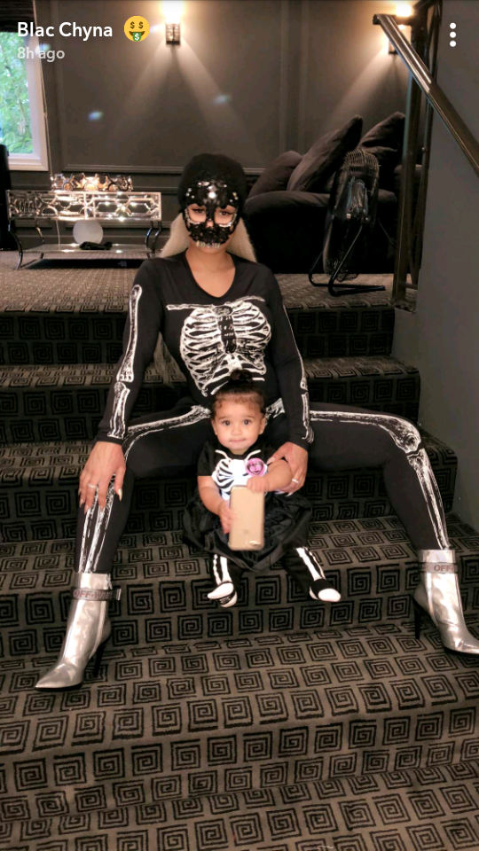 Blac Chyna and her kids go all out for halloween