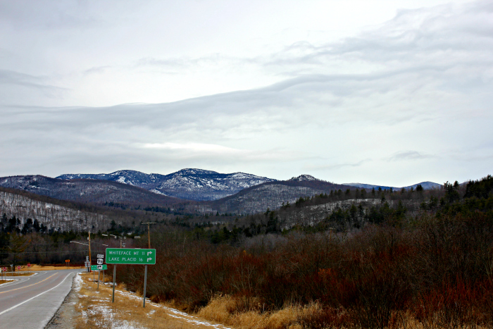 Adirondack mountains in winter - www.goldenboysandme,com