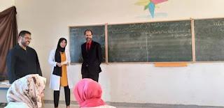 المدير الإقليمي لبرشيد في زيارة لمؤسسات تعليمية بجماعة سيدي بنحمدون