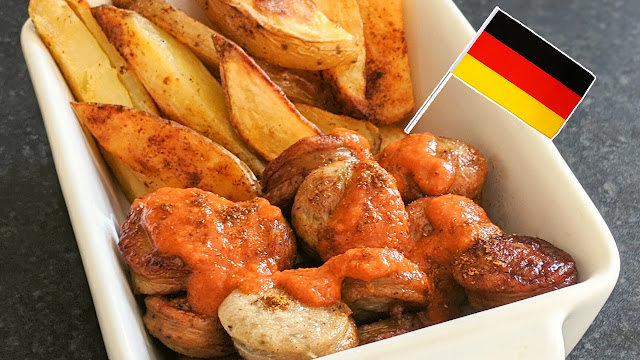 recette, currywurst