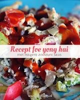 Recept foe yong hai - met magere zoetzure saus