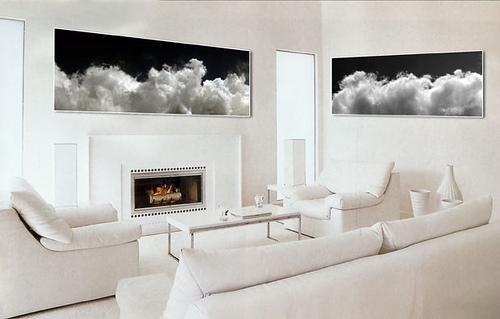 Interior decorating custom contemporary white living room - Interior Design