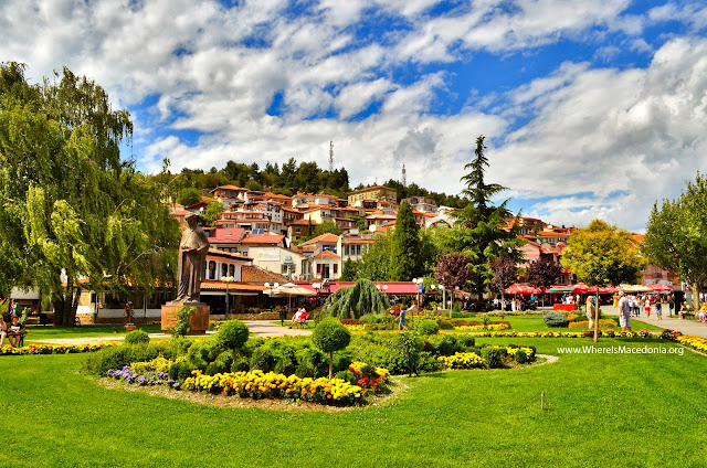 Ohrid city center, Macedonia