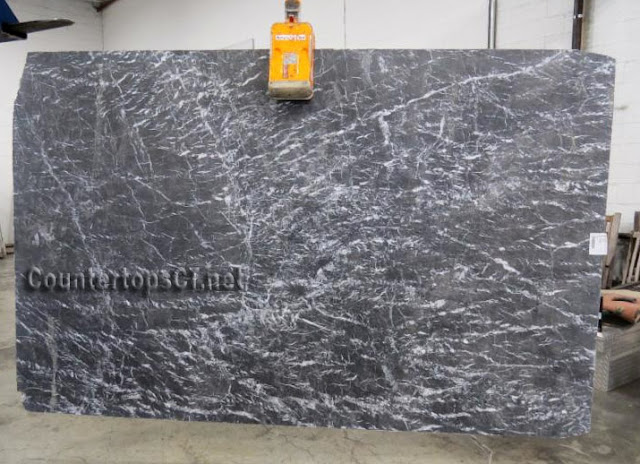 3cm Grigio Carnico honed Marble Slab