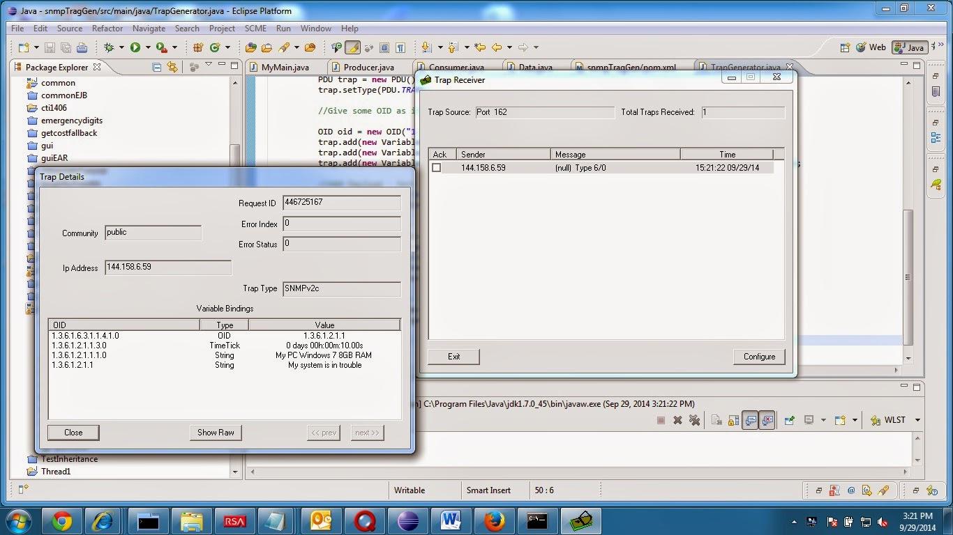 Developer-Tricks: SNMP Trap Generator using SNMP4J