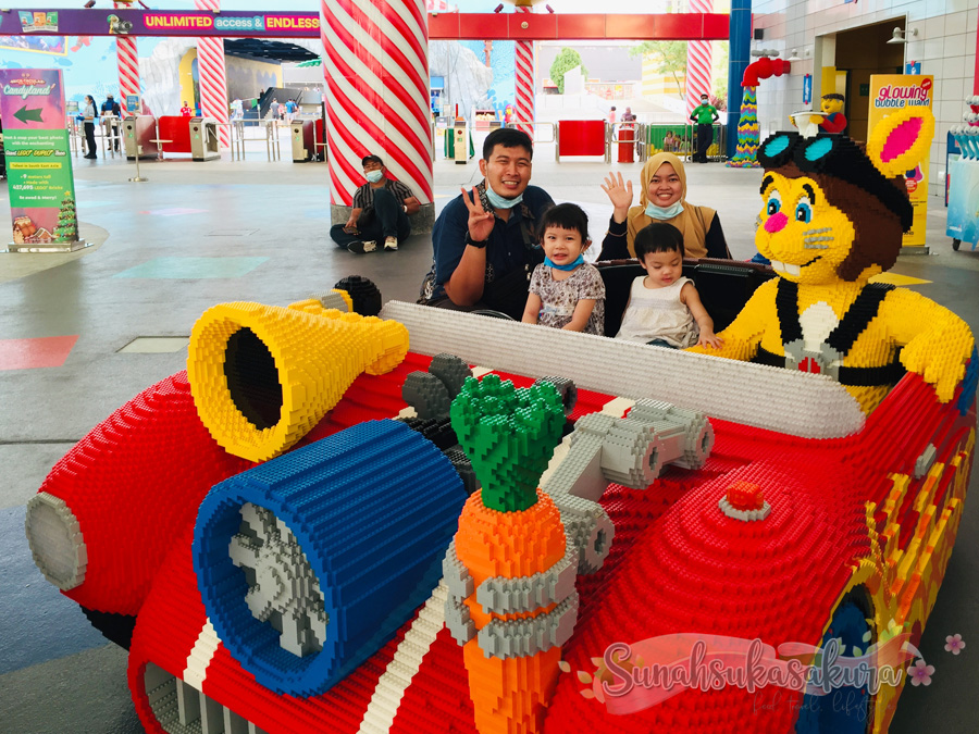 Weekend Playcation Sempena Bricktacular Holidays Candyland di LEGOLAND Malaysia Resort