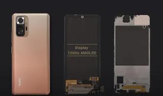 Redmi Note 10 Pro / Max- لوحة العرض